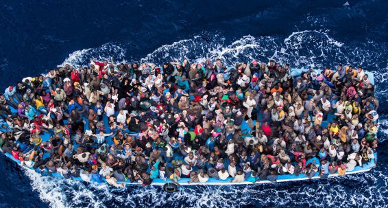 Need to increase efforts to stop human trafficking in the Mediterranean