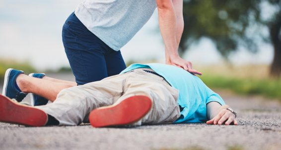 Everyone should be trained to give First Aid