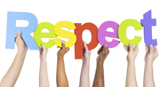 The importance of respect in a selfish society