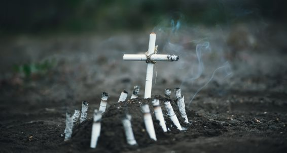 Smoking kills – even the planet we are living on