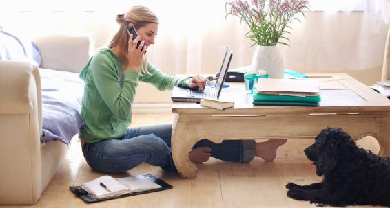 Working from home: solitude or a more balanced life?