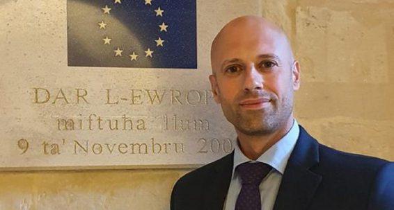 Kap ġdid għall-Uffiċċju tal-Parlament Ewropew f'Malta